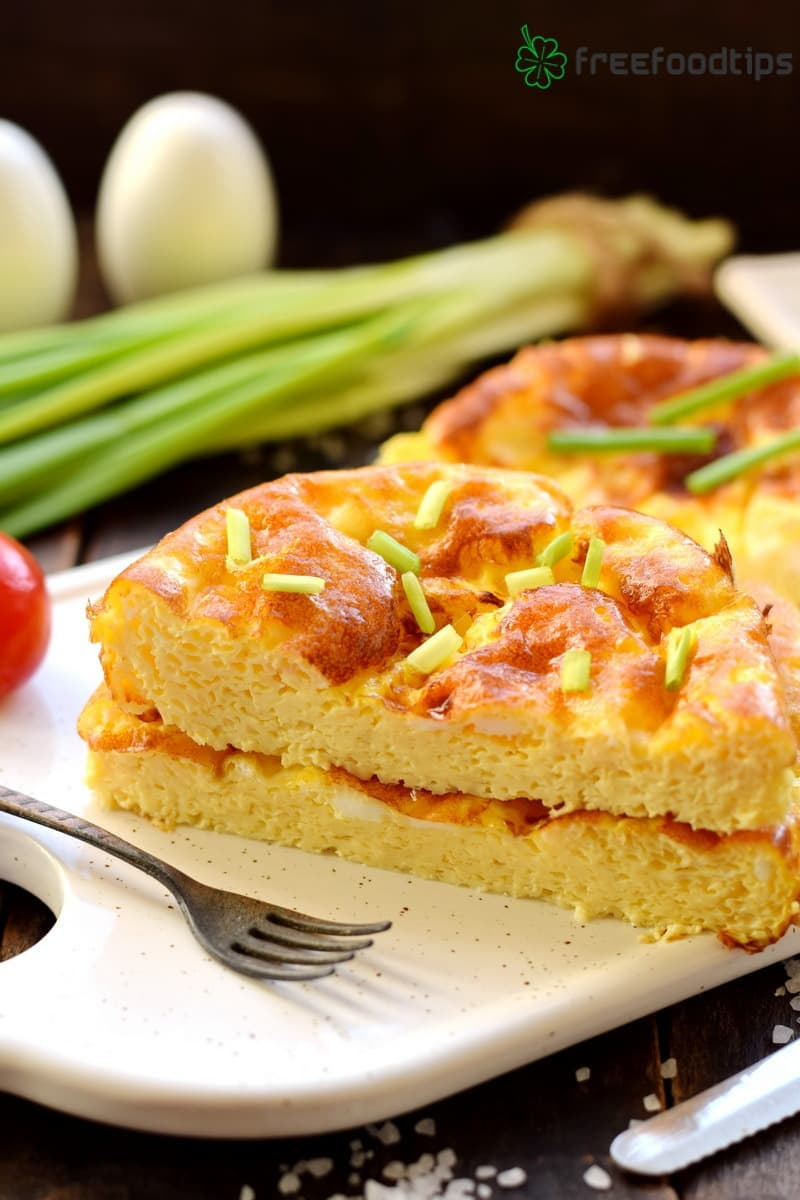 Puffy Omelet in the Oven Recipe