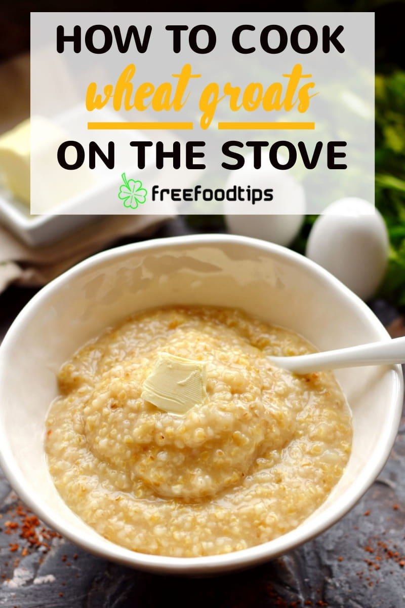 Wheat grits porridge recipe