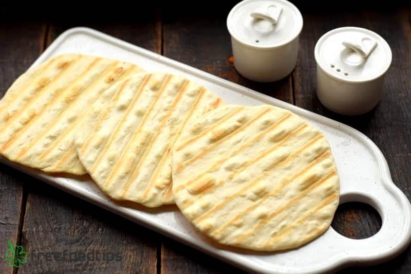 Grill tortillas