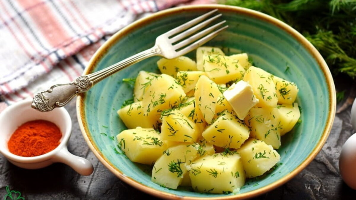 Easy Boiled Potatoes Side Dish Recipe Freefoodtips Com