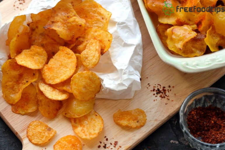 Crispy Homemade Potato Chips