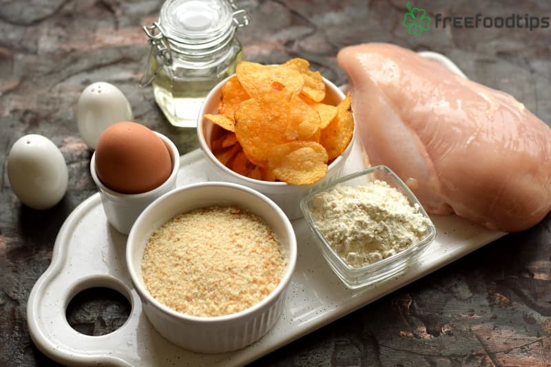 Ingredients for Homemade Chicken Nuggets