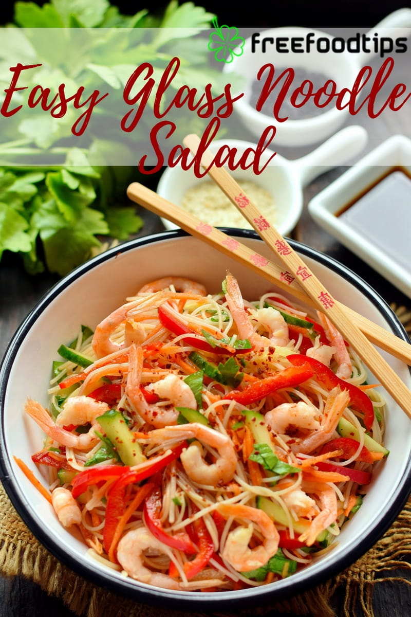 Easy Glass Noodle Salad