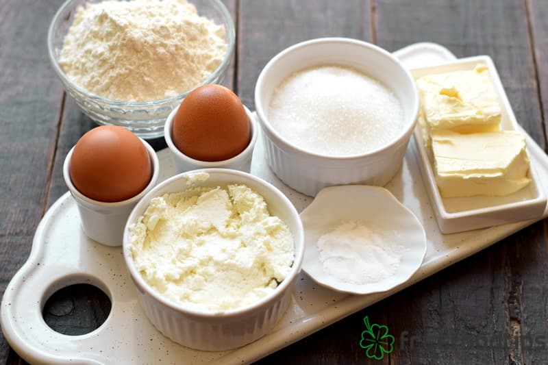 Ingredients for Cottage Cheese Muffins