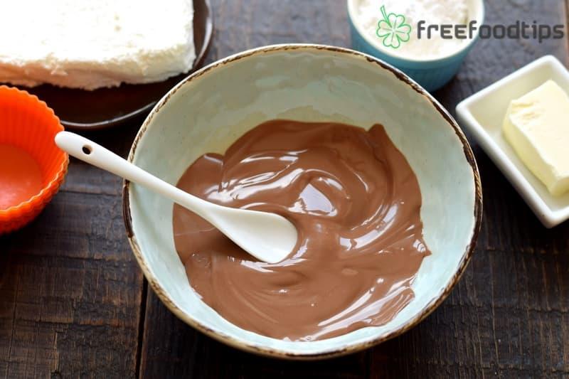 Melt chocolate bar