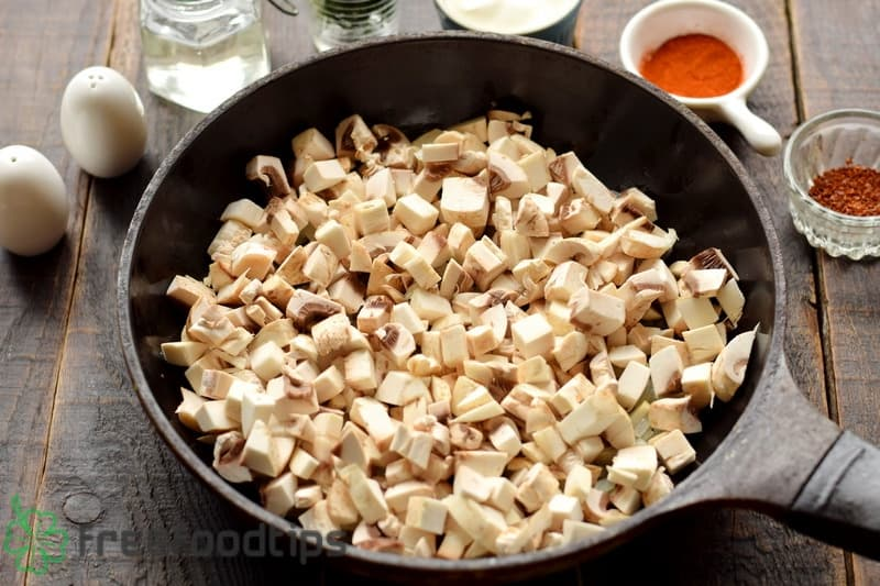Add mushrooms to the skillet