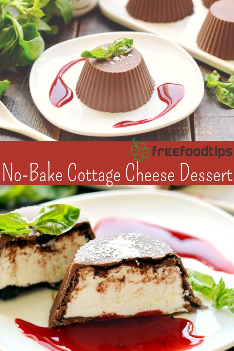 No Bake Cottage Cheese Dessert