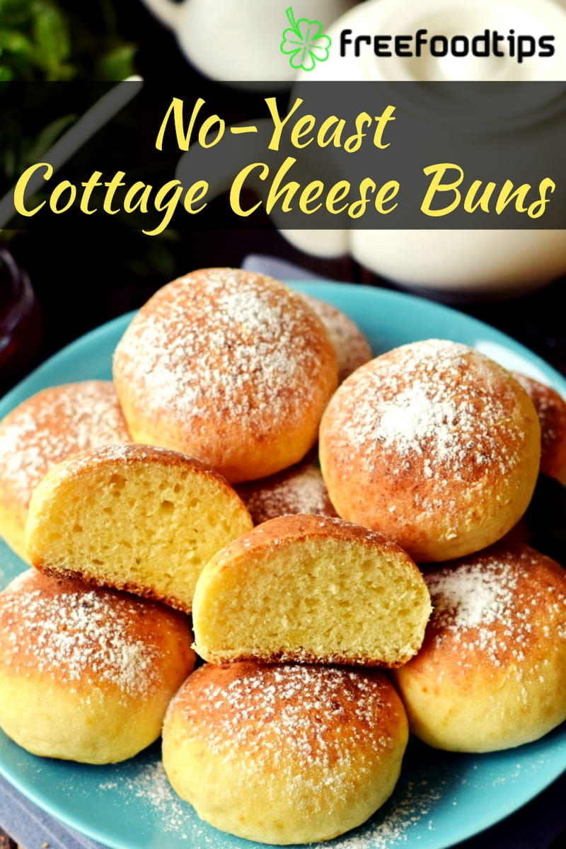 No Yeast Cottage Cheese Buns
