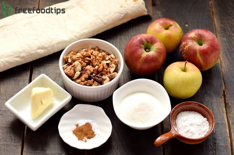 Apple Strudel Ingredients