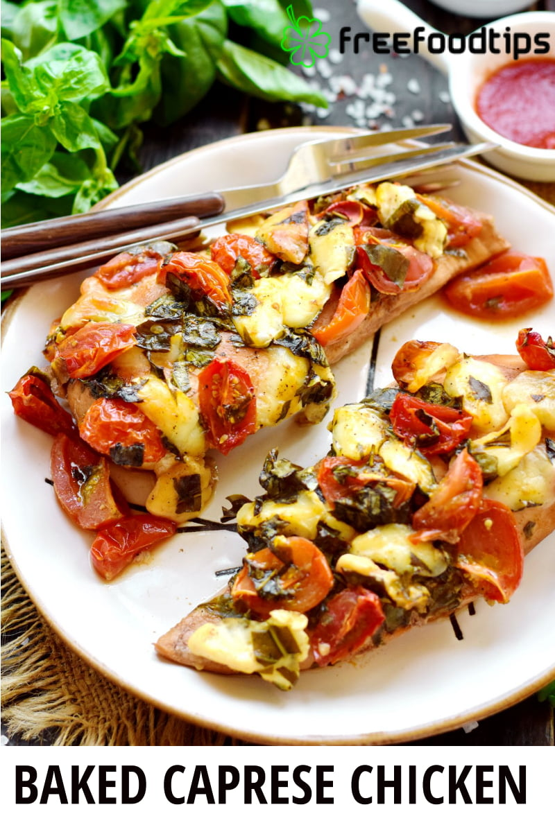 Baked Caprese Chicken Recipe
