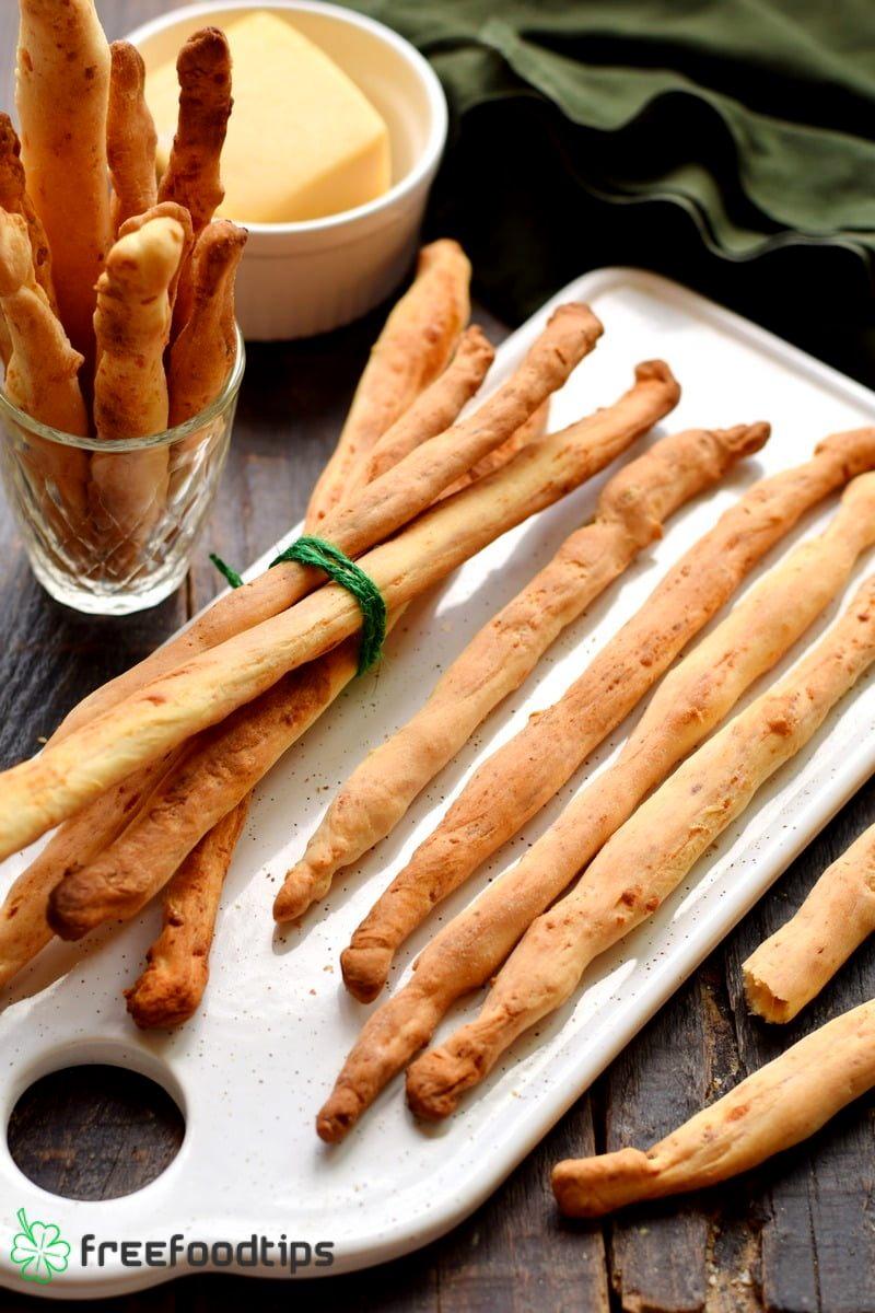 Parmesan Breadsticks Recipe Italian Style