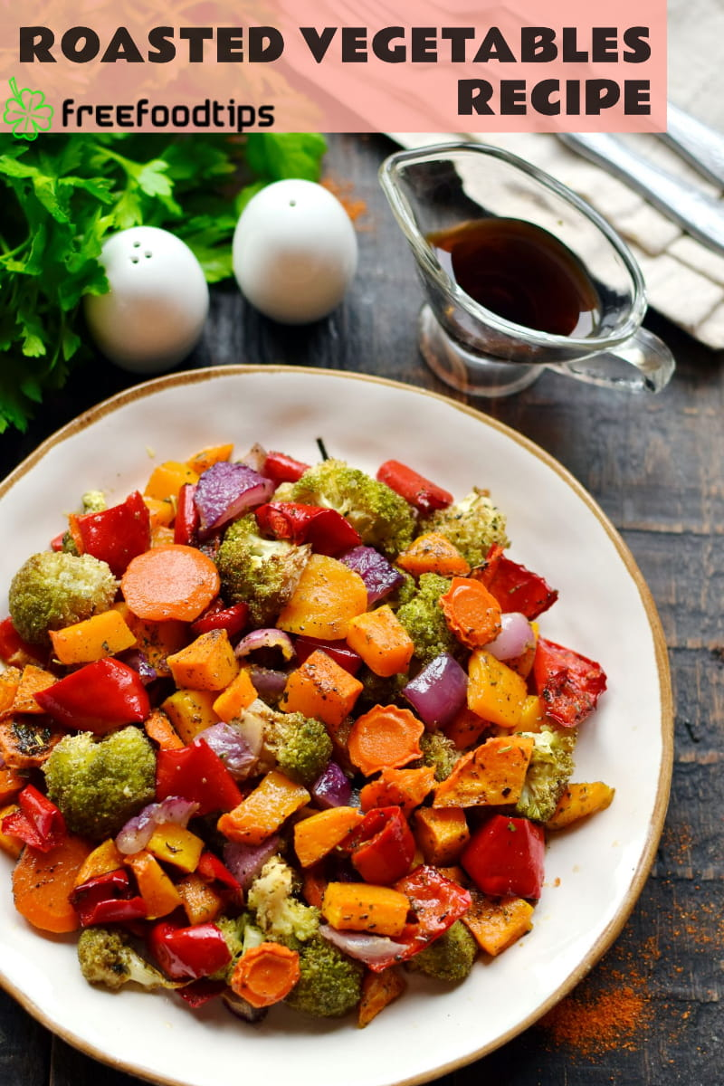 Roasted Vegetables for Thanksgiving