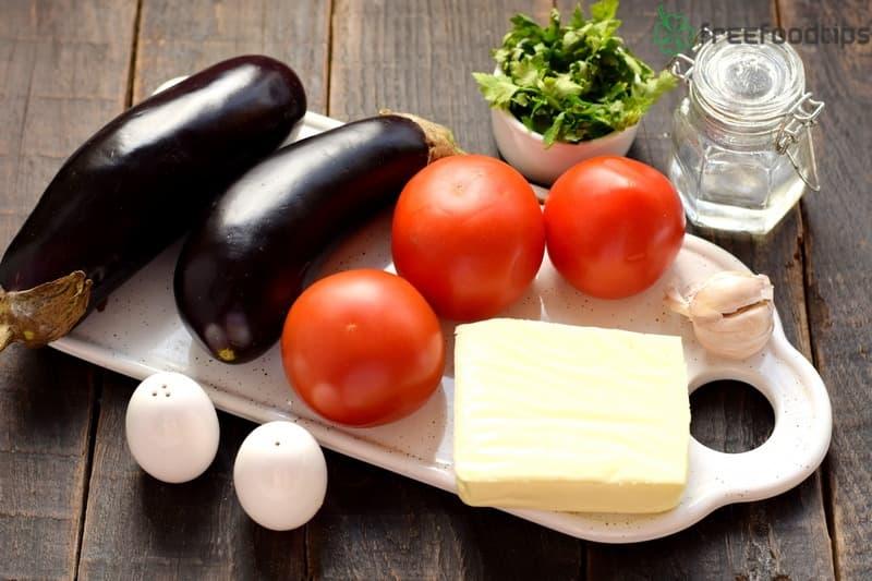 Healthy Baked Eggplant Stacks Ingredients