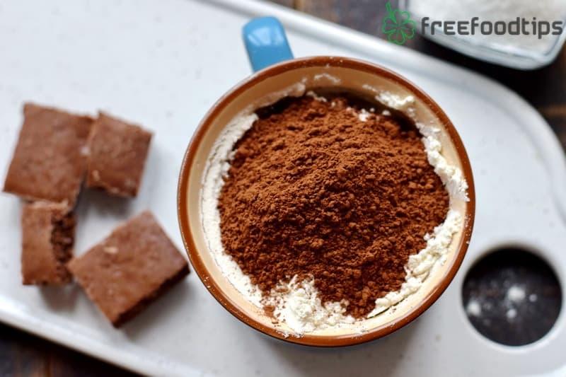 Add cocoa powder