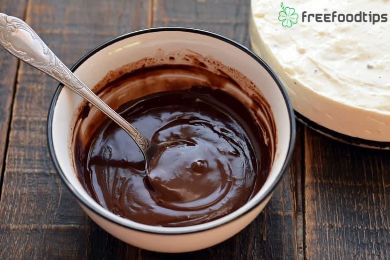 Make the chocolate ganache