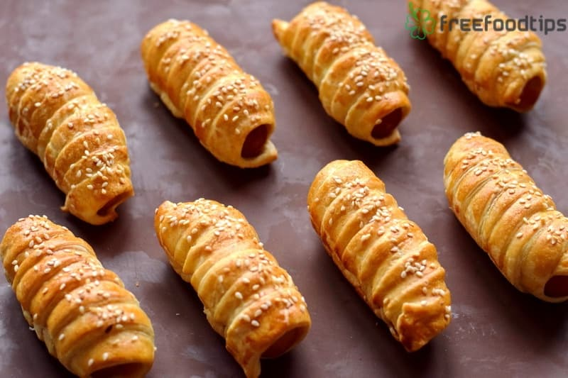 Bake pigs in a blanket for 25 minutes