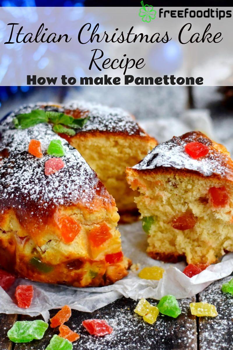 Easy Italian Christmas Cake Recipe