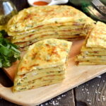 Flatbread Recipe from Scratch with Cheesy Potato Filling