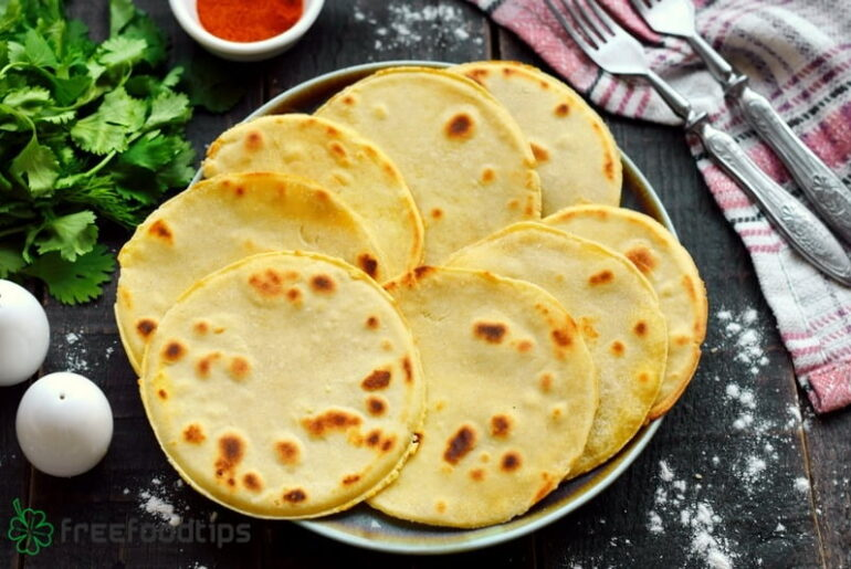 Homemade multigrain tortillas recipe