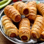 Pigs in a blanket puff pastry