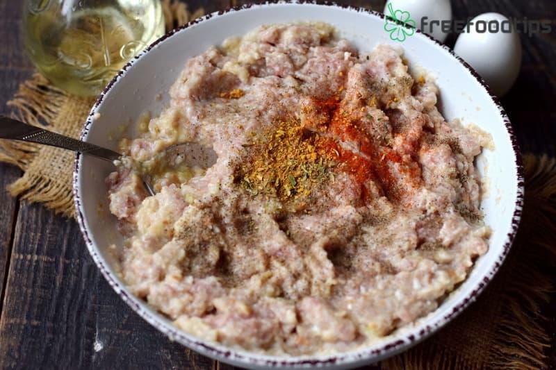 Add seasoning and mix