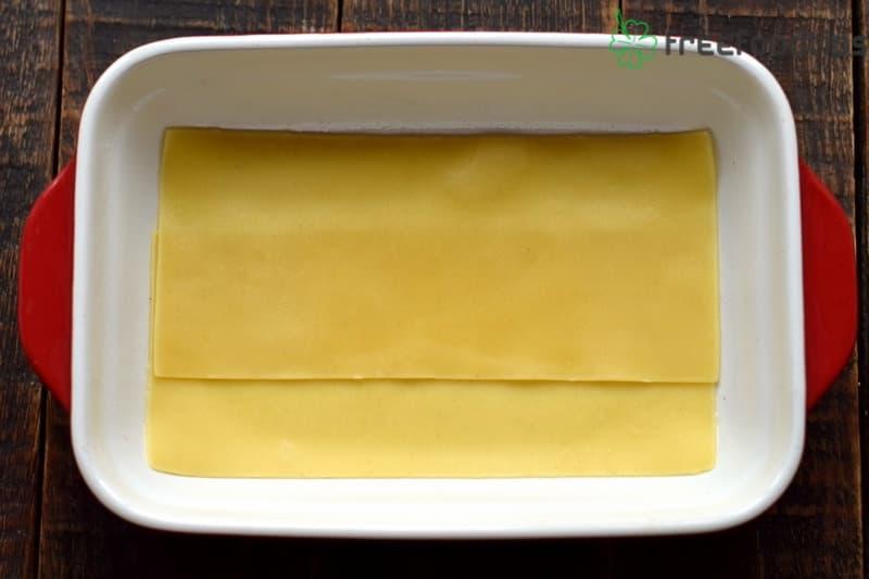 First layer lasagna sheets