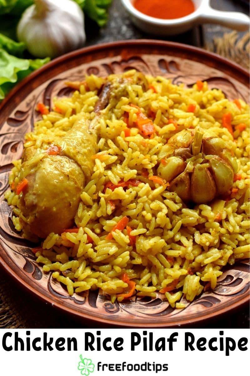 Chicken Rice Pilaf Recipe