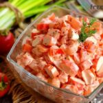 Crab Salad Recipe with Tomatoes
