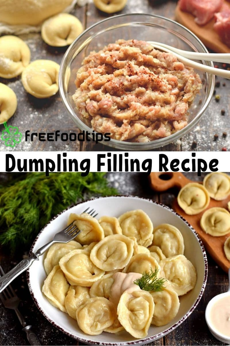 Dumpling Filling Recipe