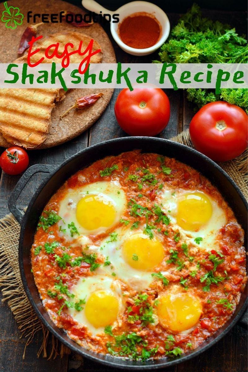 Easy Shakshuka Recipe