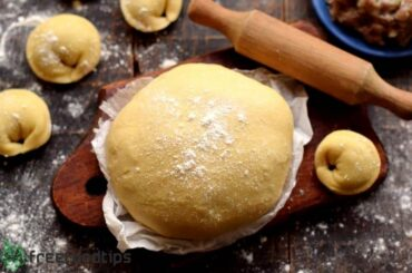 How to Make Dough for Pierogi Dumplings and Pelmeni