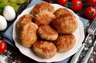 Minced Meat Patties Recipe