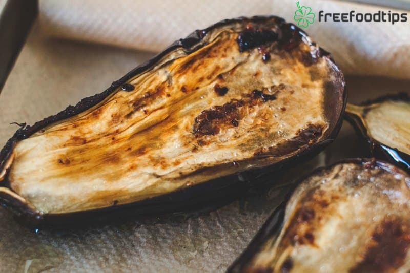 How to roast eggplant halves in the oven
