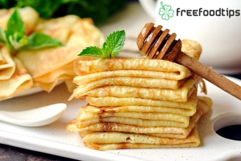 Easy recipe for thin pancakes