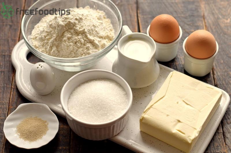 Vanilla Butterhorn Cookies Ingredients