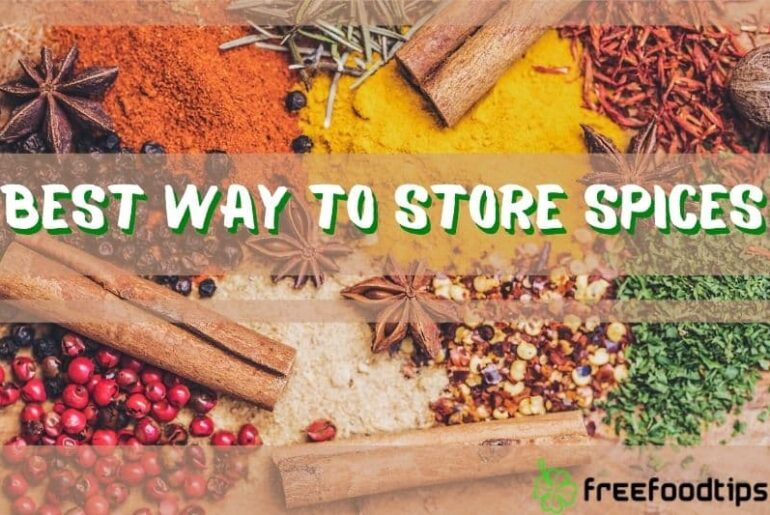 Best Way to Store Spices