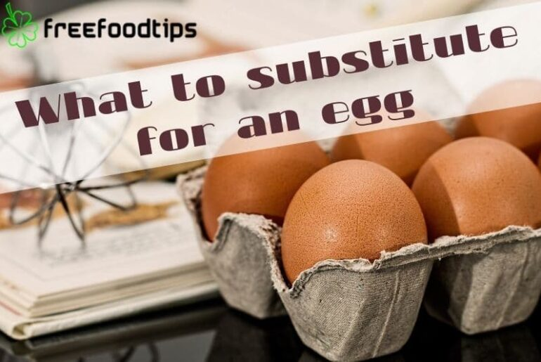 What to substitute for an egg