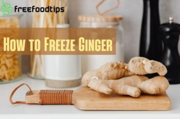 How to Freeze Ginger